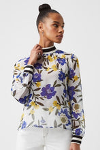FRENCH CONNECTION-Floral High Neck