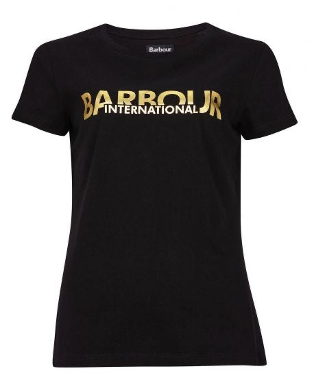 BARBOUR INTERNATIONAL Delta T-shirt - Black