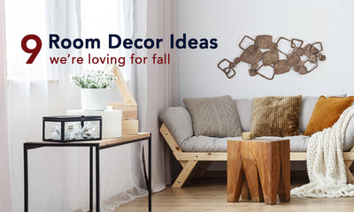 9 Room Decor Ideas We're Loving for Fall 2019