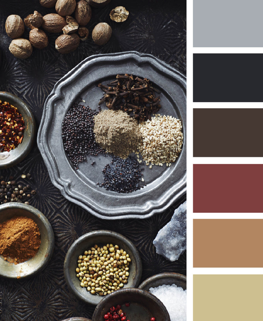Herbs and Spices Color Palette