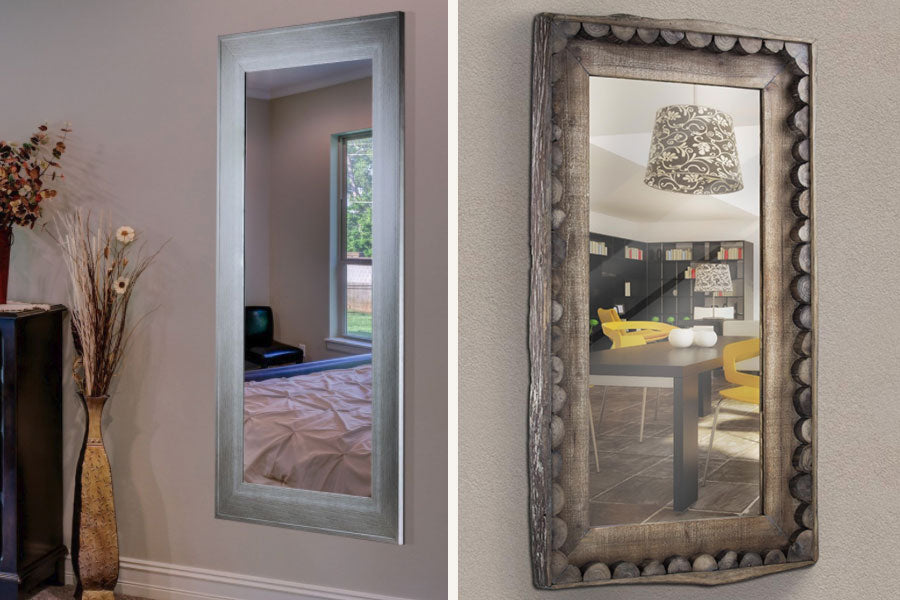modern farmhouse mirror