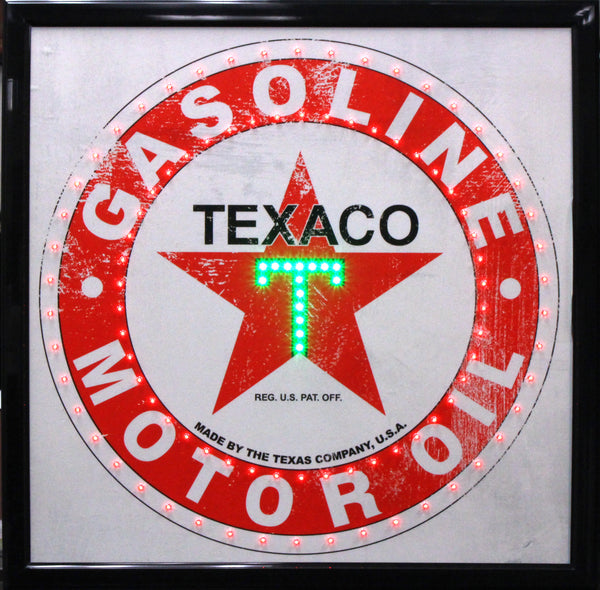 Officially Licensed Texaco LED Sign Vintage Decor