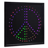 Peace LED Marquee Sign