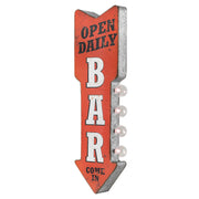 Open Daily Bar Come In Vintage LED Sign