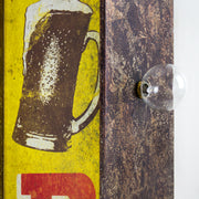 Cold Beer Vintage Bar LED Sign