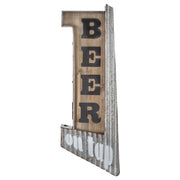 Beer on Tap Rustic LED Sign