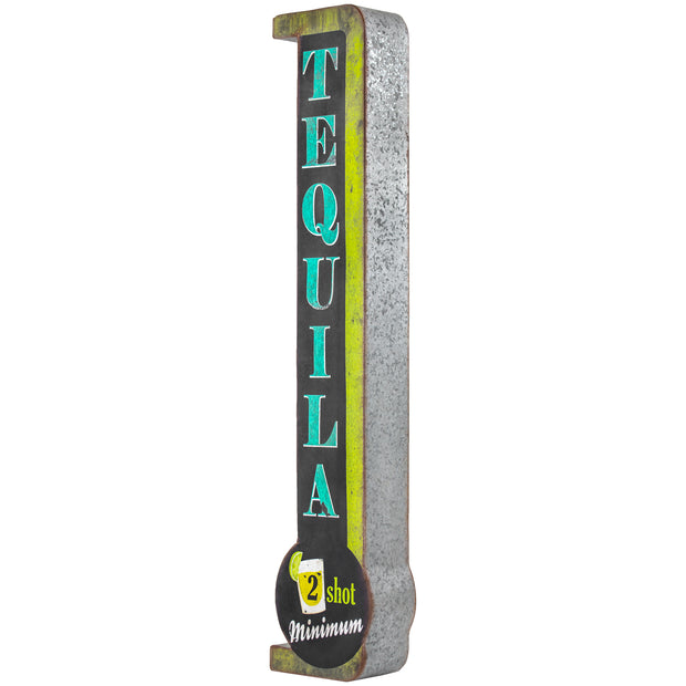 Tequila 2 Shots Minimum LED Sign