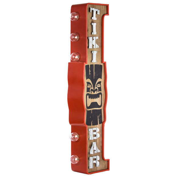 Tiki Bar LED Sign
