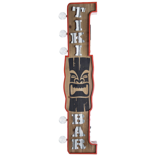 Tiki Bar Vintage LED Marquee Sign