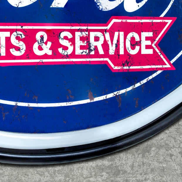 Officially Licensed Genuine Ford Parts & Services LED Sign