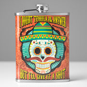 Doubt Tequila is the Answer Stainless Steel 8 oz Liquor Flask