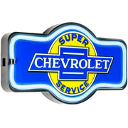 "Officially Licensed Chevrolet LED Neon Light Sign Wall Decor (9.5"" x 17.25"")"