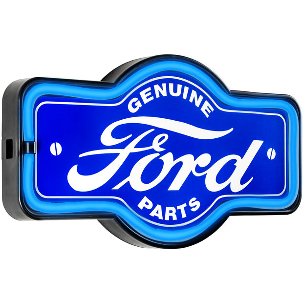 "Officially Licensed Genuine Ford Parts LED Neon Sign (9.5"" x 17.25"")"