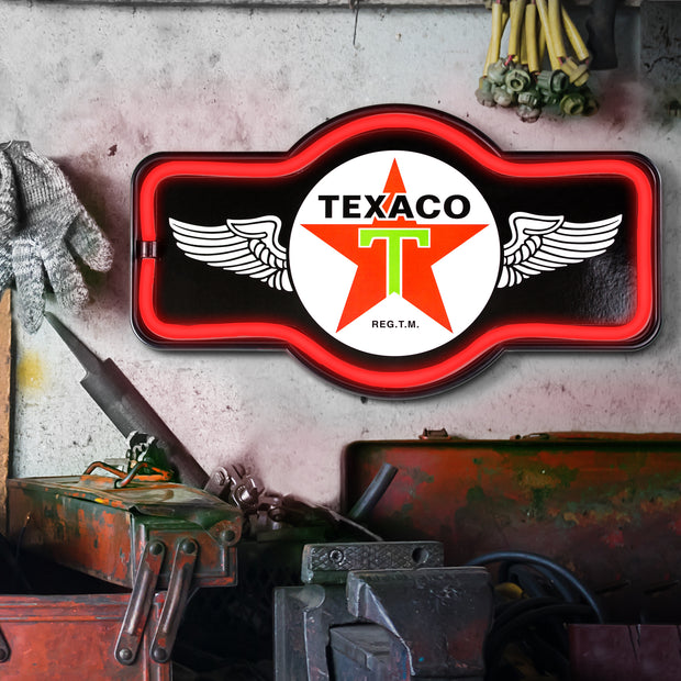 Officially Licensed Texaco LED Sign