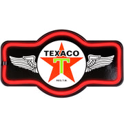 "Officially Licensed Vintage Texaco LED Neon Light Sign (9.5"" x 17.25"")"