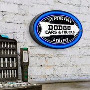 Officially Licensed Dodge Cars and Trucks LED Sign