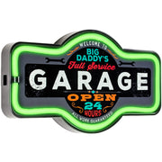 Big Daddy's Full Service Garage LED Sign
