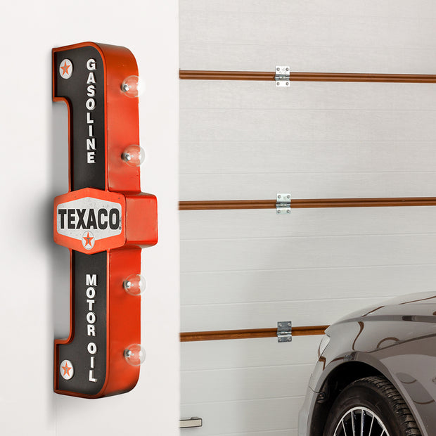 Officially Licensed Vintage Texaco LED Marquee Sign