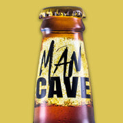 Man Cave Wall Mounted Bottle Opener & Cap Catcher