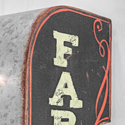Farmer's Market Vintage LED Marquee Sign