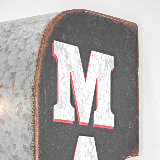 Rustic Man Cave LED Sign