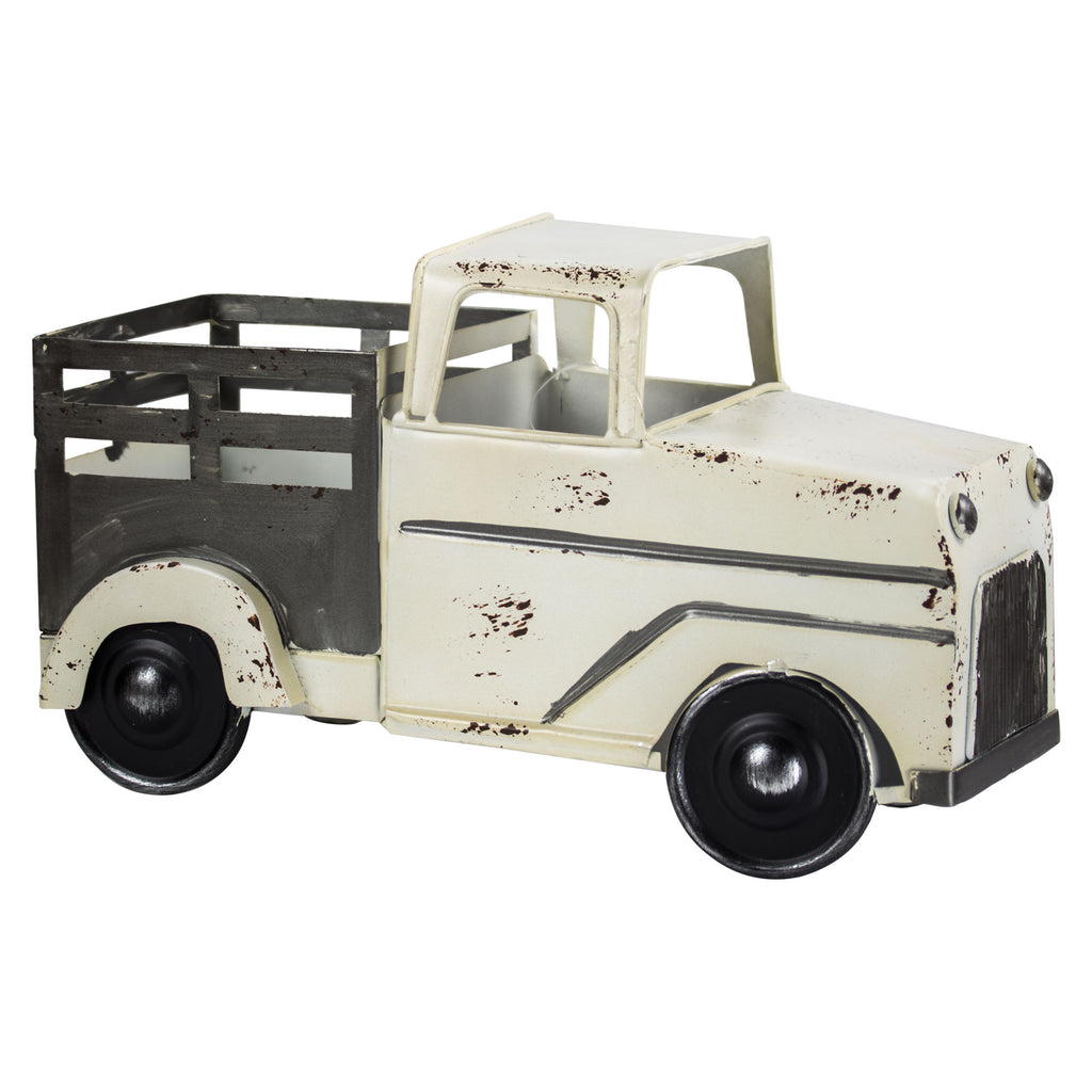 Rustic Metal Pick-Up Truck