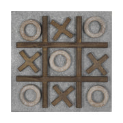 "Magnetic Tic Tac Toe Wall Game & Message/Memo Board (15"" x 15"")"