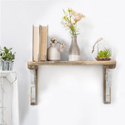 Two-Tones Wood Corbel Shelf Brackets (Set of 2)