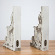 Grey Wood Corbel Brackets (Set of 2)
