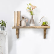 Wood Corbels Shelf Brackets (Set of 2)