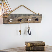 "Key Hook or Hanging Jewelry Organizer  (8"" x 20"")"