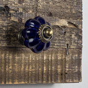 Rustic Wood Hanging Jewelry Necklace Wall Mounted Holder