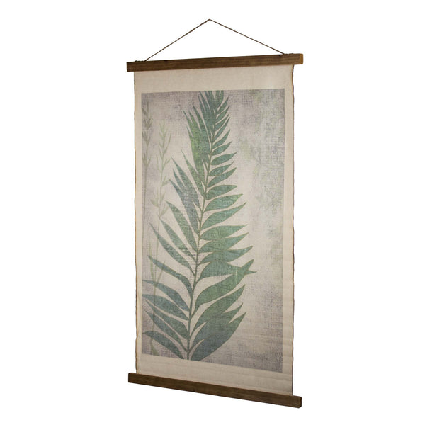 Vintage Wall Hanging Leaf Scroll Tapestry