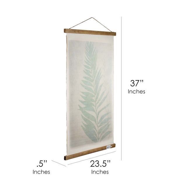Leaf Scroll Hanging Tapestry