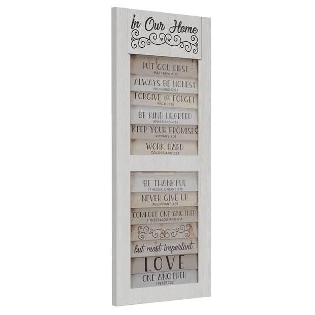 10 Bible Quotes to Live By In Our Home Wall Decor