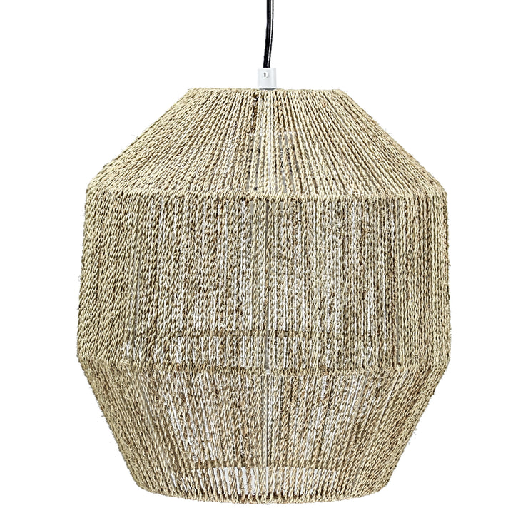 Retro Hemp Rope Pendant Light