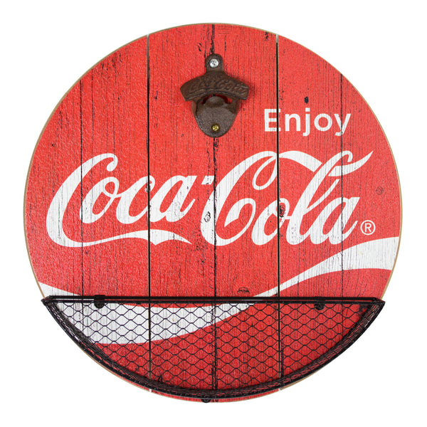 Vintage Coca Cola Bottle Opener Cap Catcher