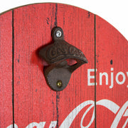 Coca Cola Bottle Opener & Cap Catcher