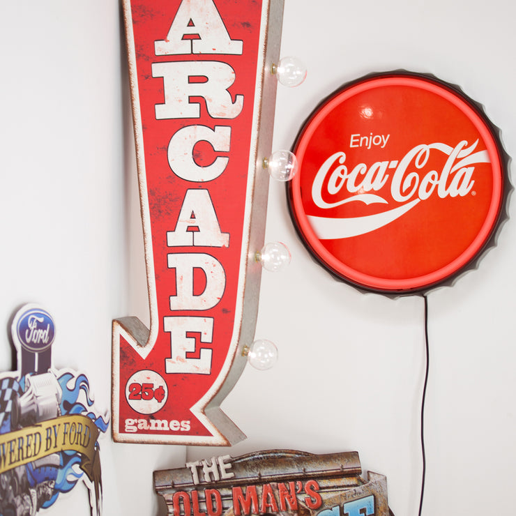 "Officially Licensed Coca Cola LED Neon Light Sign (12.5"")"