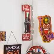 Coca Cola At Fountains In Bottle Vintage LED Sign