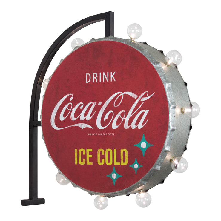 "Vintage Coca Cola LED Marquee Sign ""Drink Coca Cola"""
