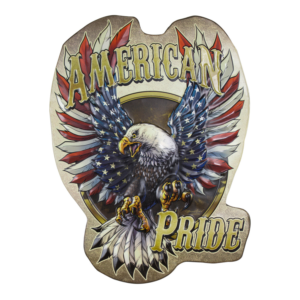 American Pride Metal Sign