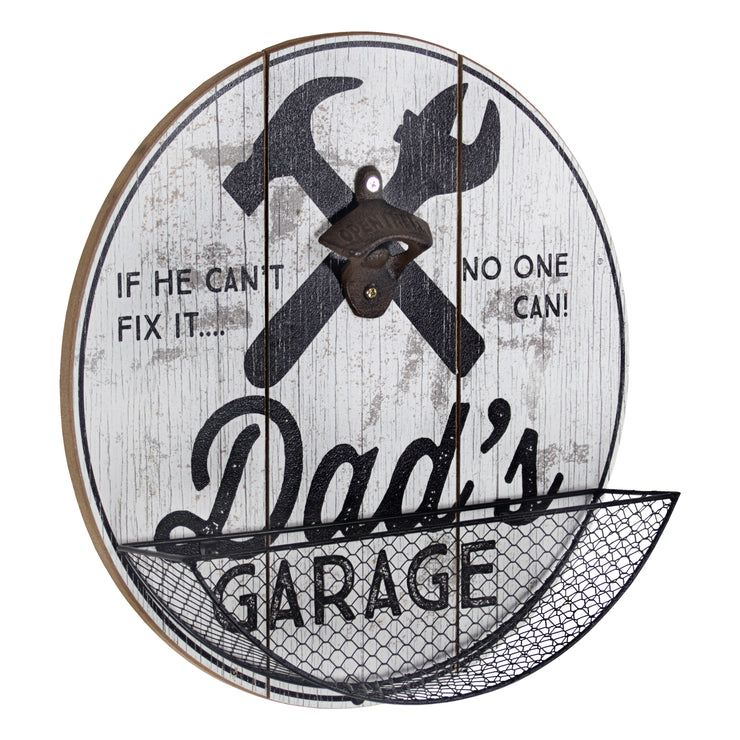 Dad's Garage Bottle Opener