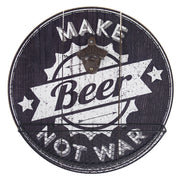 Make Beer Not War Bottle Opener