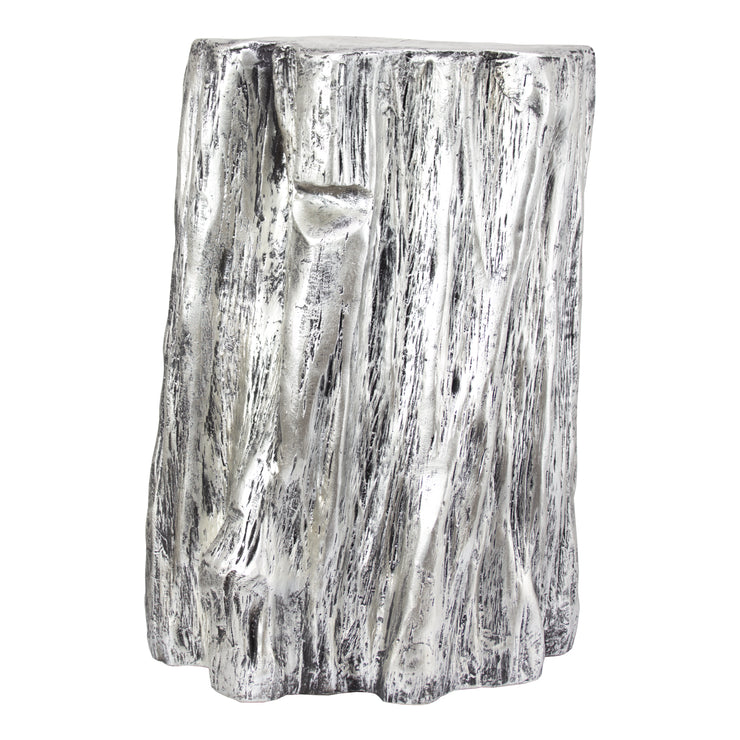 Tree Trunk Stool End Table