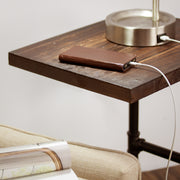 Rustic C Side Table