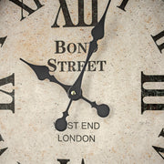 Bond Street West End Antique Pocket Watch Wall Clock 28""