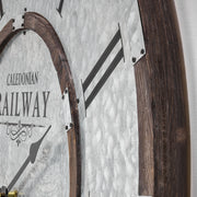 Caledonian Railway Glasgow Oversized Wall Clock 31""