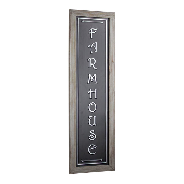 Vertical Farmhouse Sign
