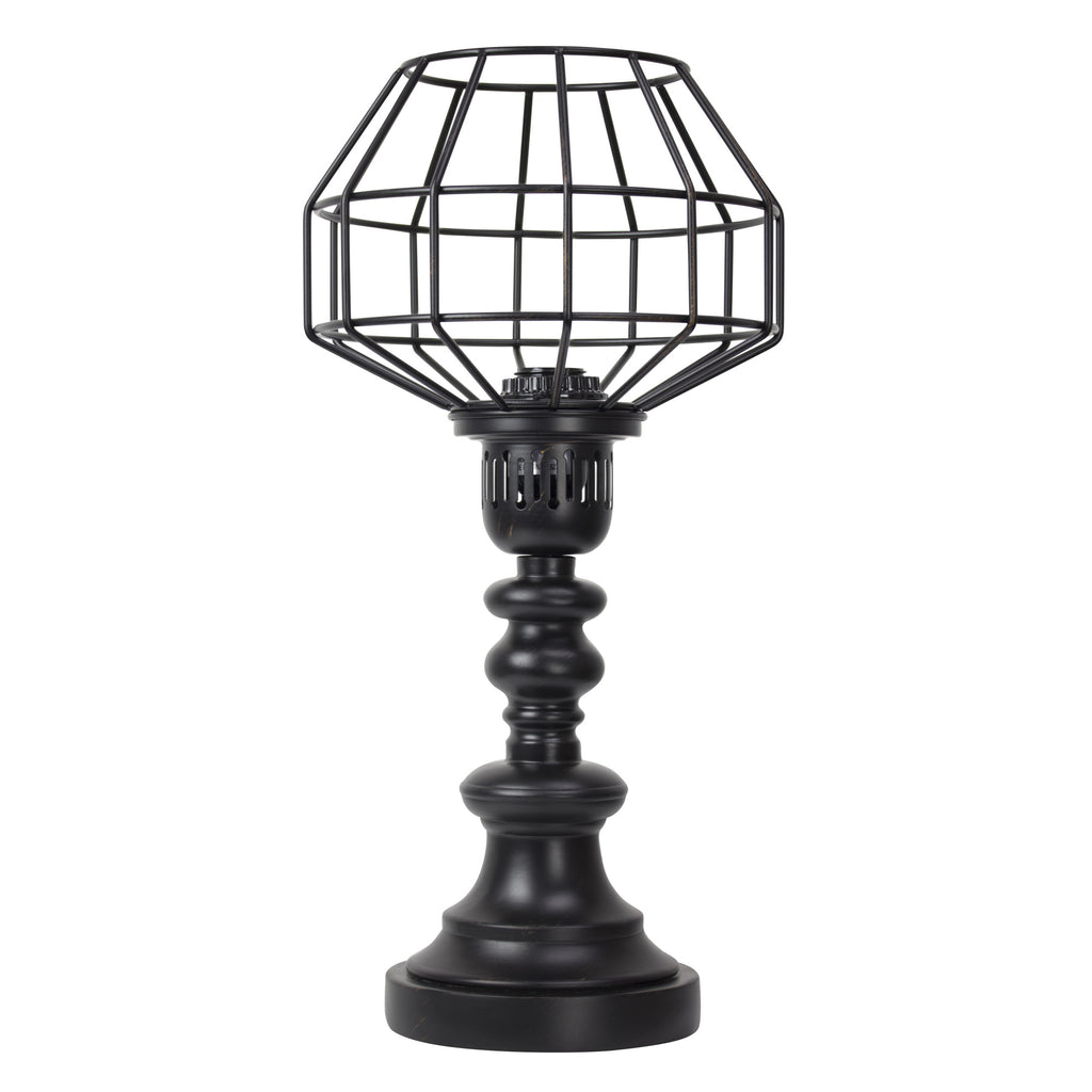 "Caged Table Lamp (18"")"